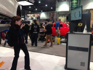 Product photography at SEMA Show.